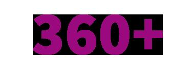 360+ graphic